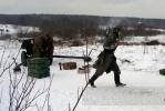 В деревне Порожки вчера прорывали блокаду (фото): Фоторепортаж