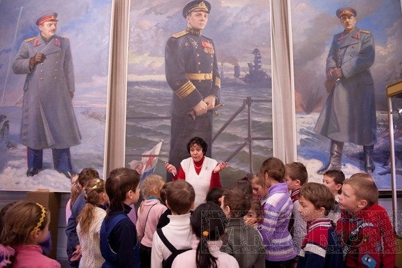 В Музее блокады самые несчастные глаза - у немцев: Фото