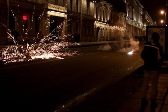 Фейерверк взорвался в толпе: Фото