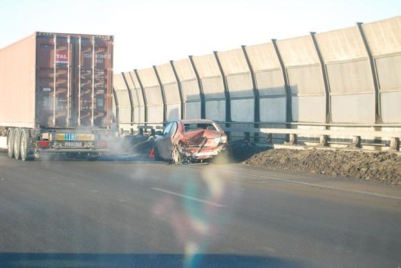 На КАД – две аварии (фото): Фото