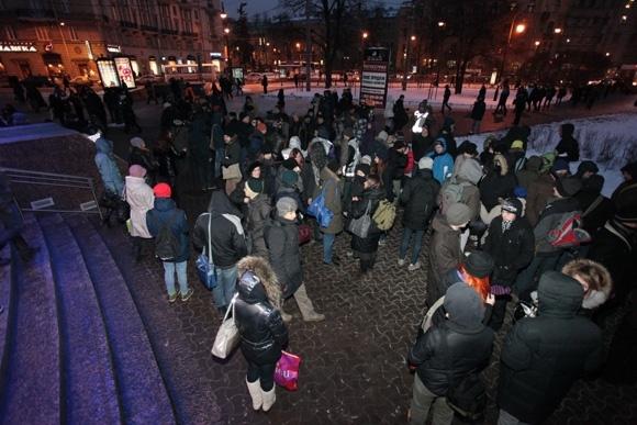 Шествие и митинг антифашистов: фоторепортаж: Фото