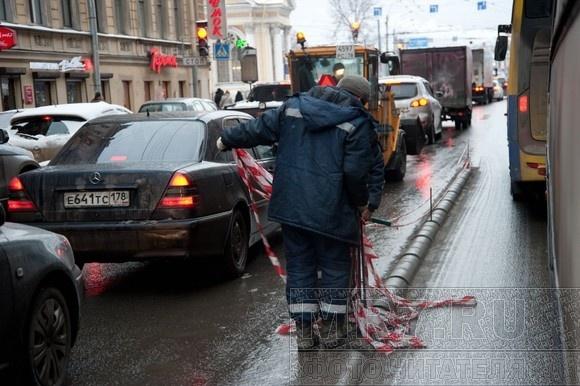 Город пускается на новые эксперименты с дорожным движением: Фото