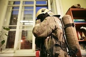 На Васильевском острове потушили горевший офисный центр