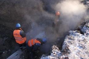 На Будапештской строят запасной трубопровод