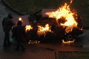 На Стачек гранатой подорвали автомбиль