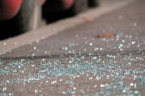 Водитель Hyundai  сбил двух школьниц на остановке