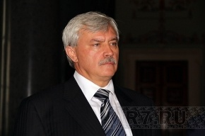 Полтавченко могут переизбрать осенью 2012 года