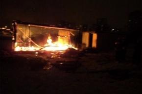 Пожар на стройке у Ледового дворца – случайность или месть?
