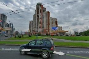 С 20-этажного дома на Ленинском проспекте прыгнули три экстремала