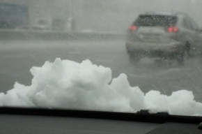 Завтра в Петербурге ожидается сильный снегопад