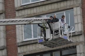 Из коммуналки на Гривцова в 5 утра эвакуировали 36 человек
