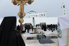 В Петербурге и Москве на Крещение пройдет великое освящение воды