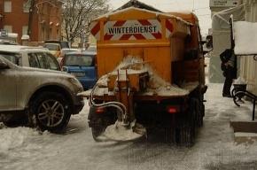 В Петербурге появятся семь новых снегоплавильных пунктов