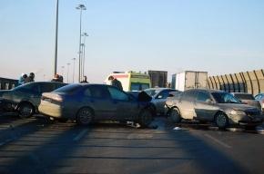 На КАД – две аварии (фото)