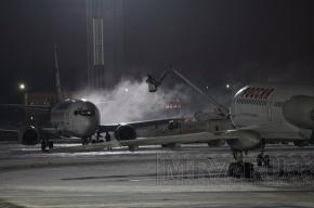 Самолет, вылетевший в Москву, вернулся обратно в Пулково