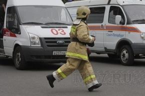 Маршрутка № 155 сгорела у метро