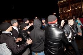 Под бой курантов на Дворцовой произошла массовая драка