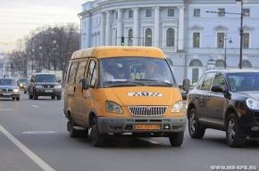 В Петербурге арестовали восемь нелегальных маршруток