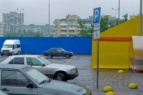 Автомобиль на Стачек взорвали  из-за парковки