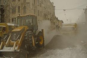 Коммунальная катастрофа: на Будапештской вновь прорвало трубу