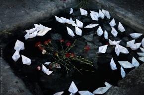 Воспитанники Аничкова Дворца зажгли свечу памяти