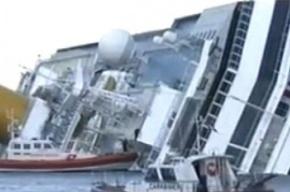 «Коста Конкордия» может полностью затонуть