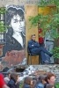 Фоторепортаж: «На котельной «Камчатка» нарисуют огромный портрет Цоя»