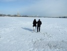 Морозы пока не уходят из Петербурга: Фоторепортаж