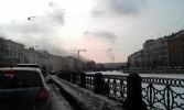 Фоторепортаж: «В Петербурге горит дворец Белосельских-Белозерских на Невском проспекте»
