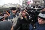 Фоторепортаж: «Навальный едет на митинг в Петербург к «упырям, голосующим за Путина»»