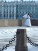 Фоторепортаж: «Морозы пока не уходят из Петербурга»