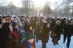 Фоторепортаж: «Несколько сотен петербуржцев митинговали в защиту Удельного парка (фото)»