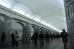 Сломавшийся состав остановил поезда на «красной» ветке метро Петербурга: Фоторепортаж