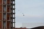 Фоторепортаж: «На углу Культуры и Просвещения с 25-го этажа кидали кирпичи»