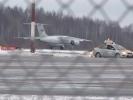В «Пулково» садится самолет с поврежденным шасси: Фоторепортаж