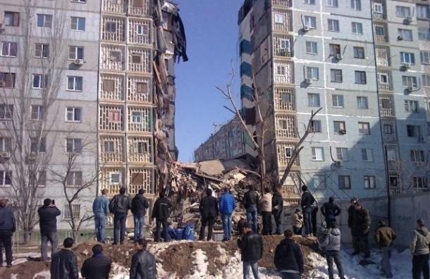Обнаружена десятая жертва обрушения дома в Астрахани