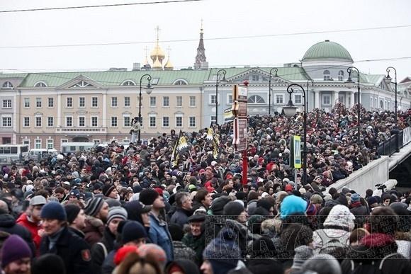 Каспаров, Удальцов и Навальный выступят на митинге в Петербурге: Фото