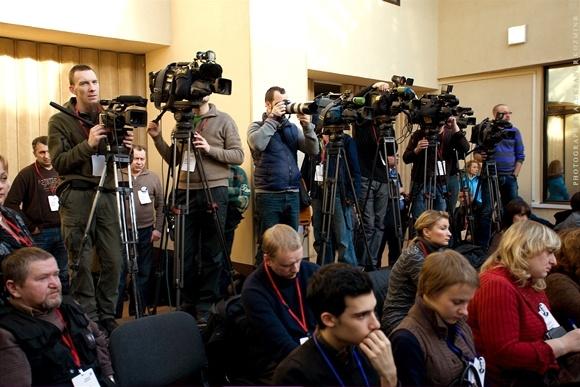 Прохоров удивился, почему бывшие питерские студенты не хотят уходить из Кремля: Фото