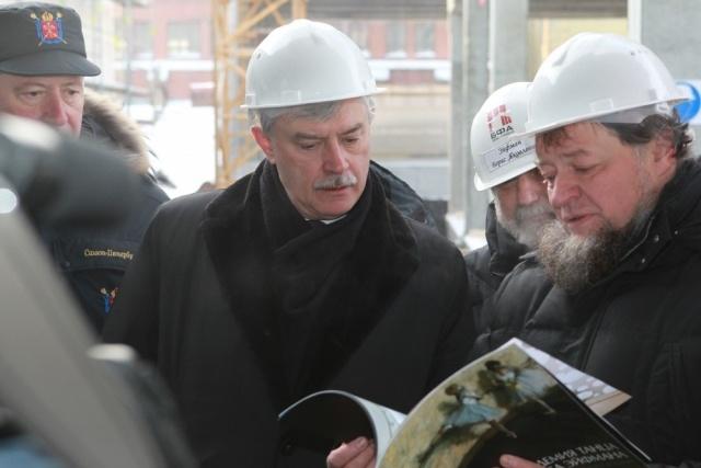 Петербург не до конца готов к выборам президента, заявил Полтавченко: Фото