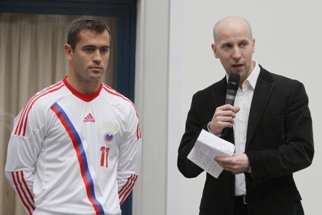 У российских футболистов появилась форма с элементами кольчуги: Фото
