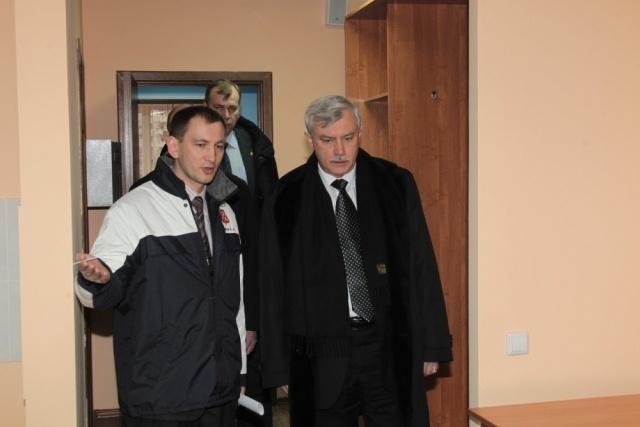 Полтавченко пообещал студентам больше общежитий: Фото