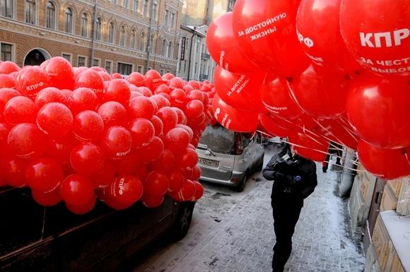 Оппозиция прошла колонной по центру Петербурга (фото): Фото