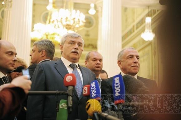 Полтавченко собрался работать наблюдателем на выборах: Фото