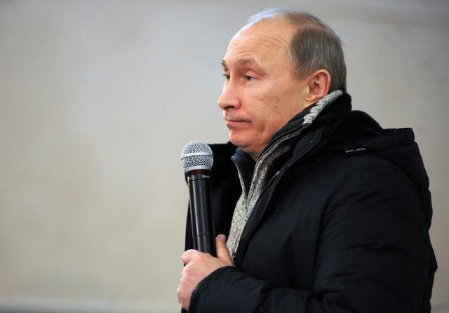 Журнал Time обвинили в путинофобии за маленькую фотографию Путина: Фото