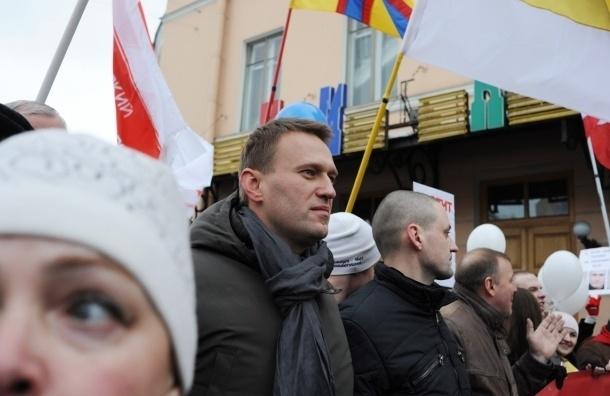 На митинге оппозиции в Петербурге Удальцов и Навальный потребовали у Путина сдать мандат