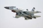 Перед падением на Дальнем Востоке у Су-30 загорелся двигателя