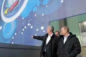 Путин побывал в будущем Доме КВН