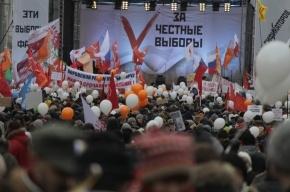 Юрий Шевчук завершил митинг на Болотной площади песней «Родина» и «Ой, мороз, мороз»