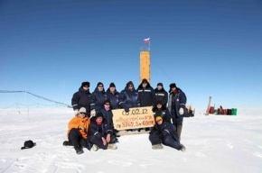 Петербуржцы добрались до реликтового озера в Антарктиде