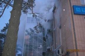Ущерб от пожара в торговом центре Лесосибирска превышает 50 млн рублей